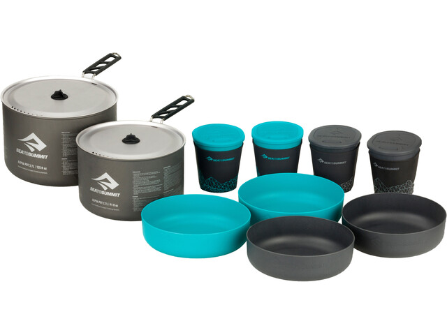 Sea to Summit Alpha 2 Pot Cook Set 4.2, grey